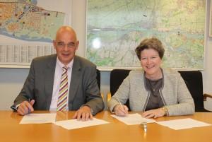 Ondertekening overeenkomst Gorinchem-Noord