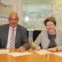 Gemeente Gorinchem en Rijkswaterstaat tekenen overeenkomst voor de aansluiting A27 Gorinchem-Noord